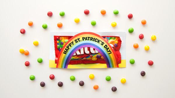 St. Patrick's Day Rainbow Skittles