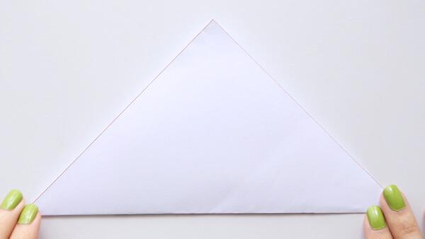 Flip triangle over