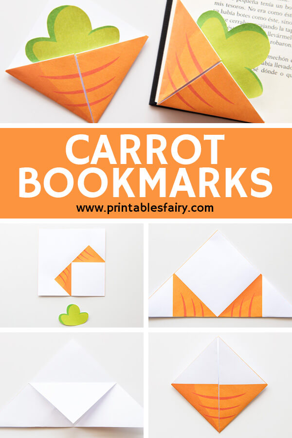 Carrot Bookmarks