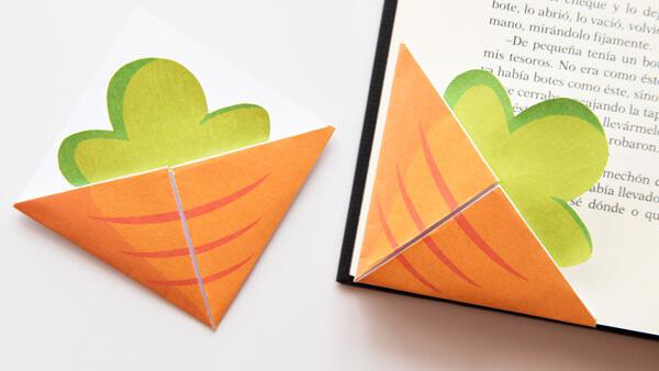 Carrot Corner Bookmark