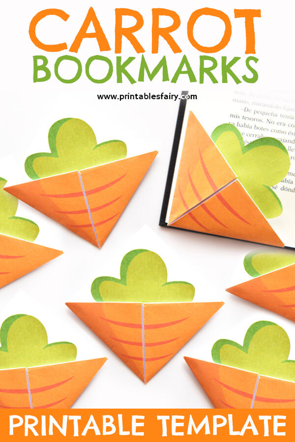 Carrot Corner Bookmarks