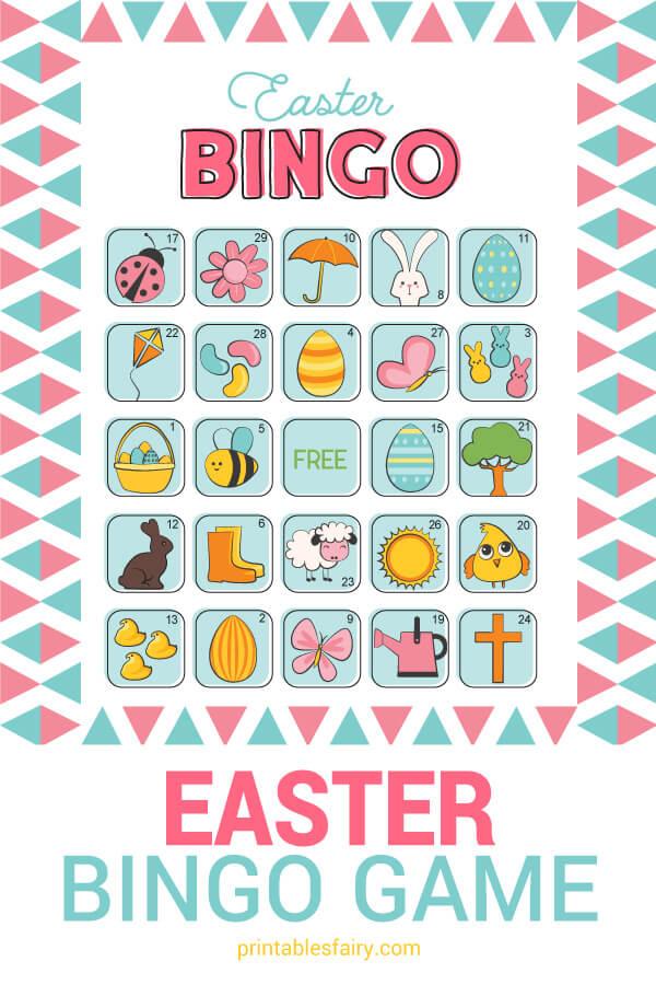Printable Easter Bingo