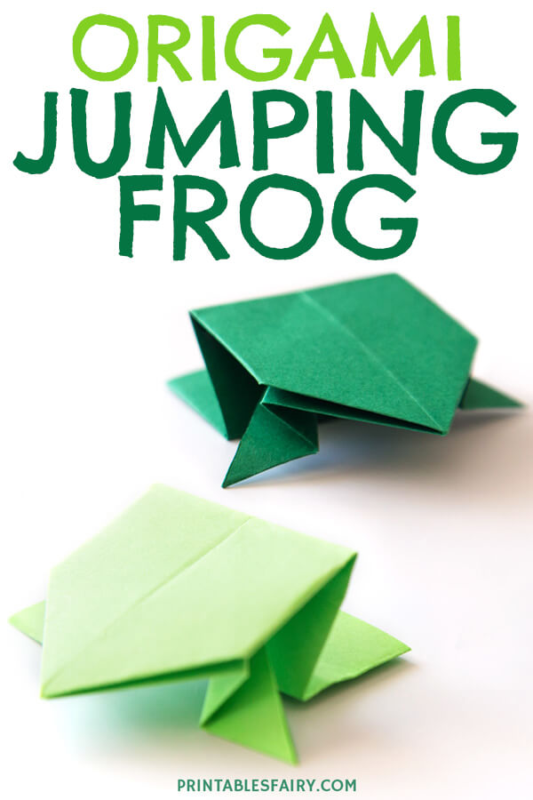 How to make an Origami Frog -Origami Bases | 900x600