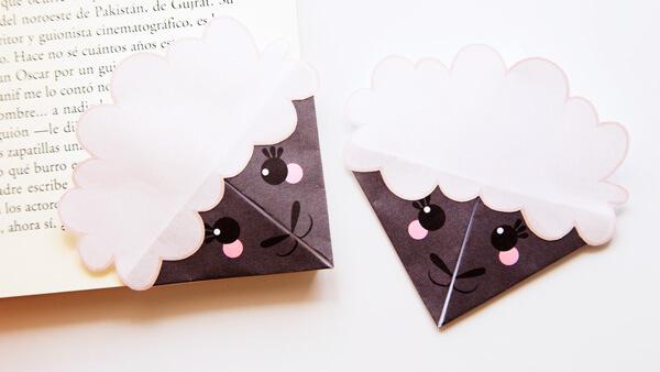 Sheep Corner Bookmarks