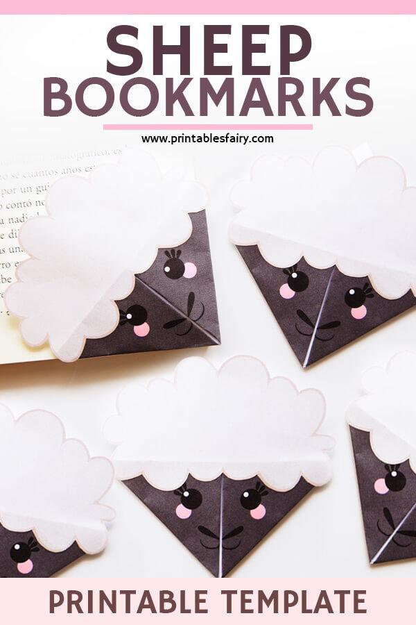 Sheep Bookmarks