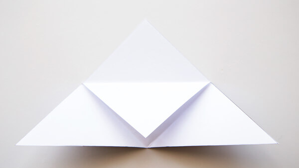 Fold tip to the bottom