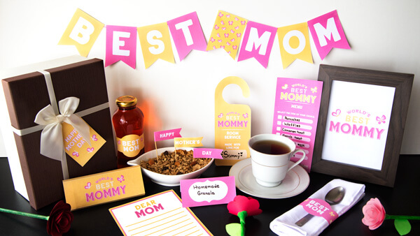 Mother's Day Breakfast Printables