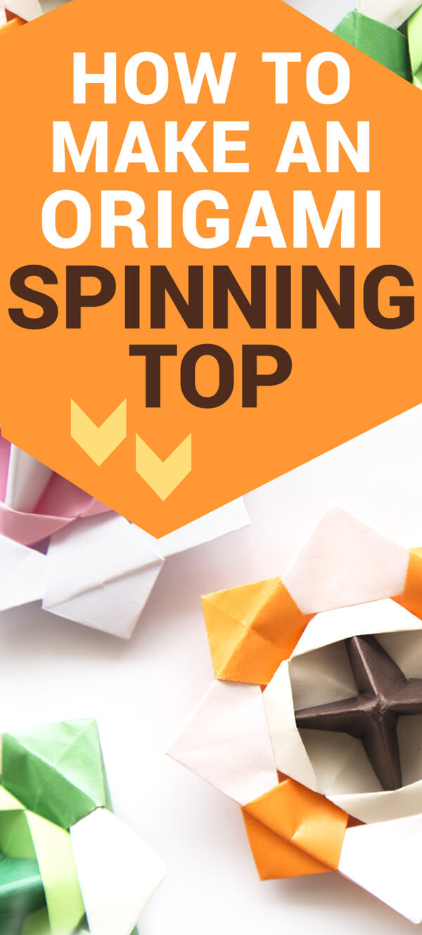 Origami Spinning Top Tutorial