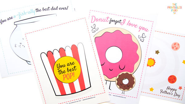 Father's Day Finger Painting Templates