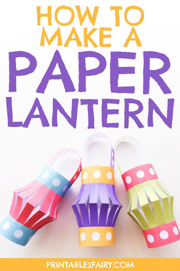 Printable Paper Lantern