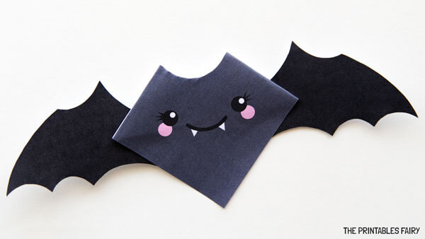 Bat Corner Bookmark