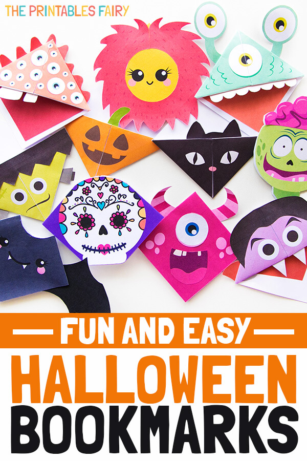Halloween Corner Bookmarks