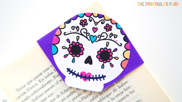 Sugar Skull Bookmark