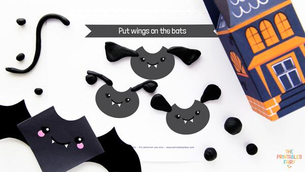 Bat Playdough Mats