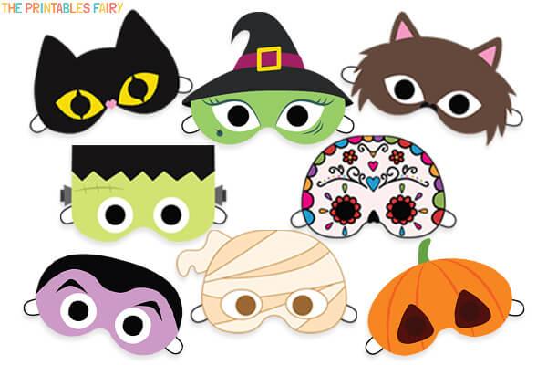 Free Printable Halloween Masks