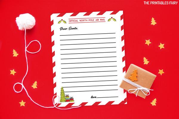 Empty Letter to Santa