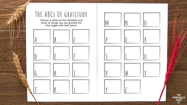 The ABCs of Gratitude