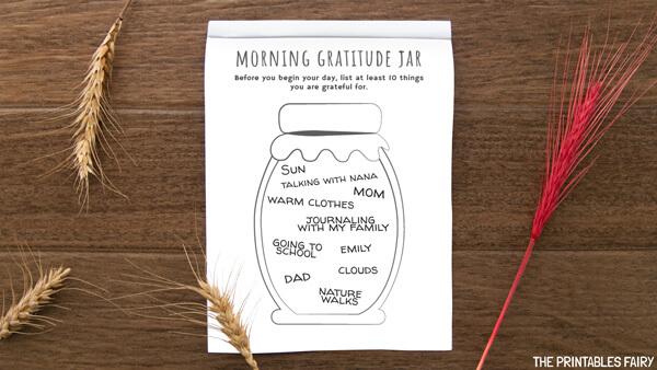 Morning Gratitude Jar