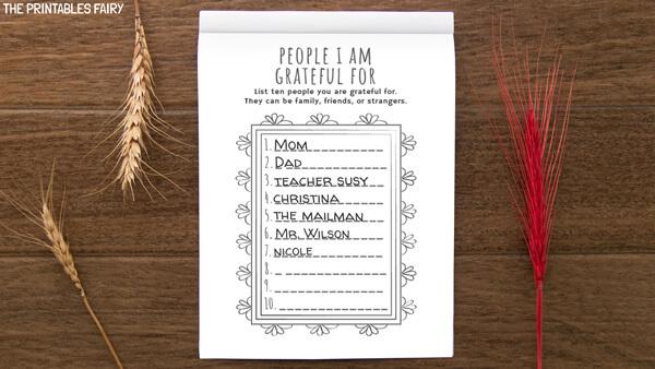 People I am Grateful For