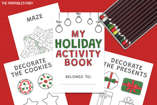 Printable Christmas Activity Book