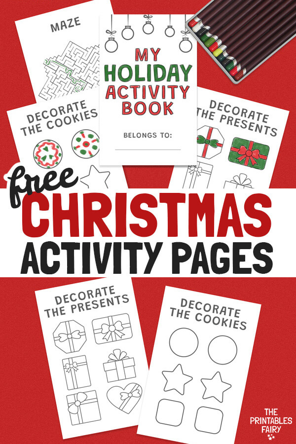 Free Printable Christmas Activity Pages