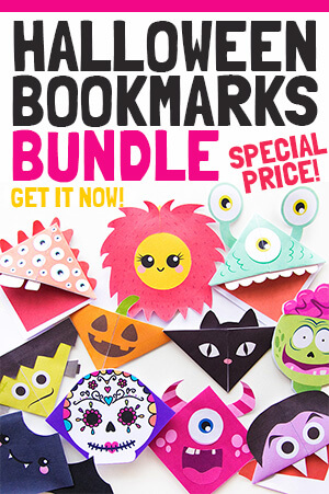 Halloween Bookmark Bundle