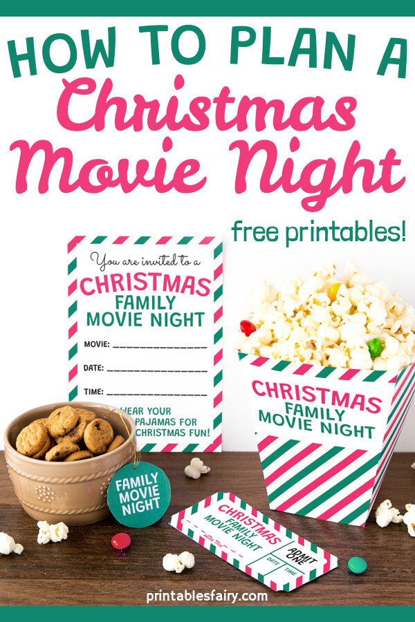 How to Plan a Christmas Movie Night