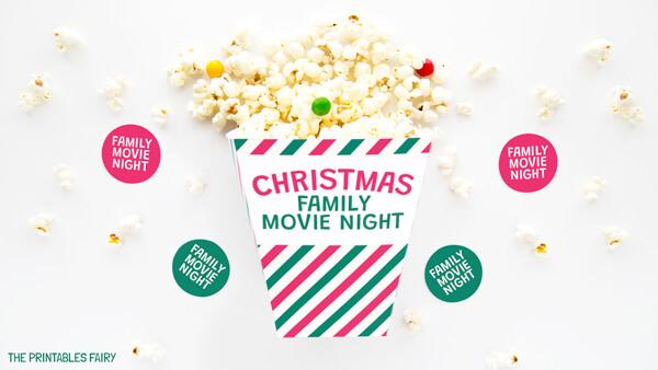 DIY Popcorn box