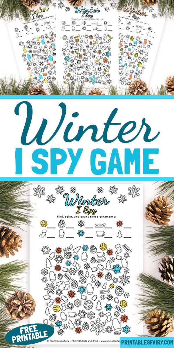 Winter I Spy Game