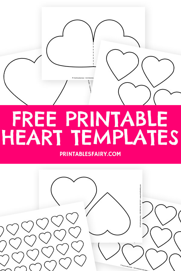 Free Printable Heart Templates