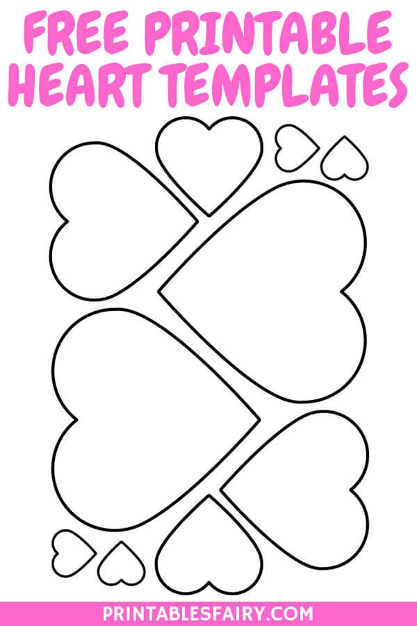Free Printable Heart Stencils