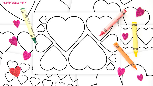 Printable Heart Templates
