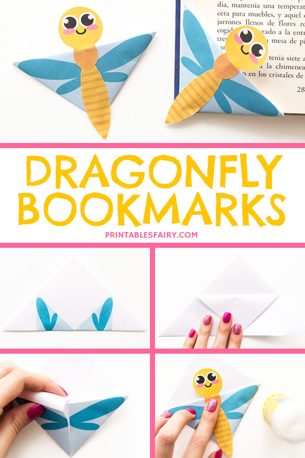 Dragonfly Bookmarks