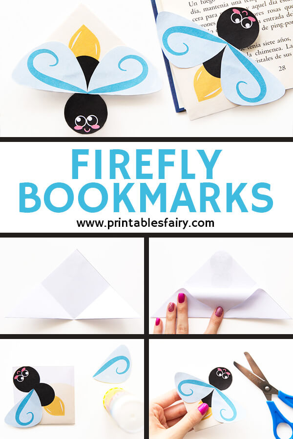 Firefly Bookmarks Printable Template