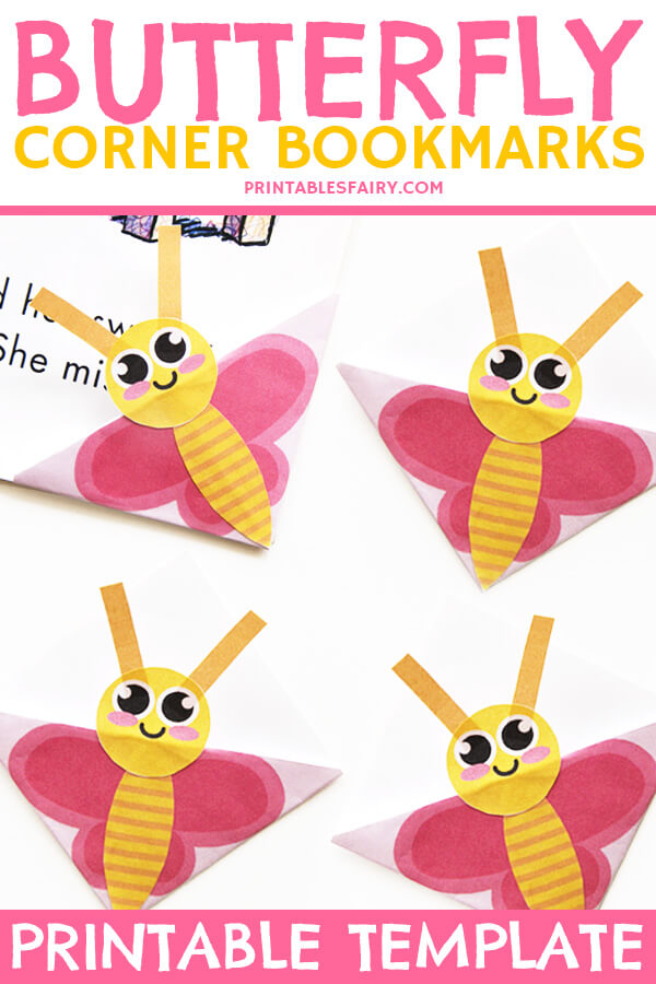 Butterfly Corner Bookmarks