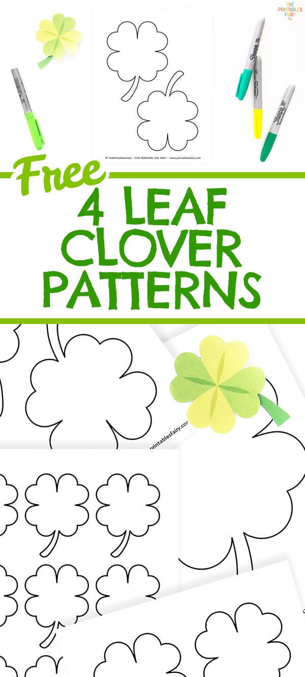 4 Leaf Clover Patterns