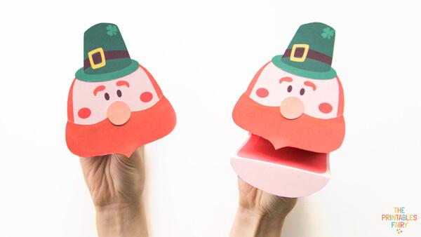Leprechaun Hand Puppet