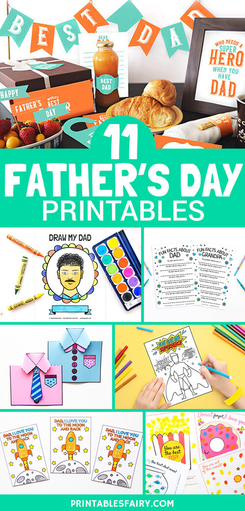 11 Father's Day Printables