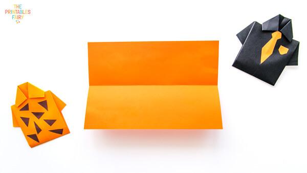 Unfolded rectangle