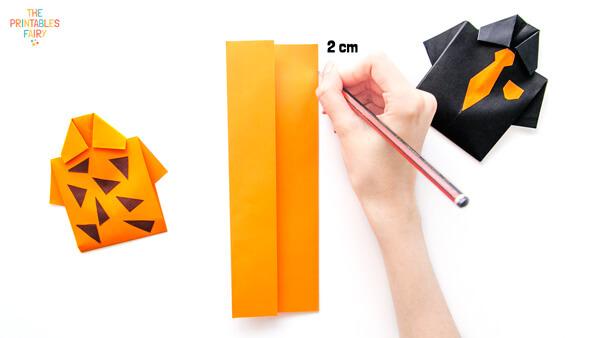 Measuring 2cm