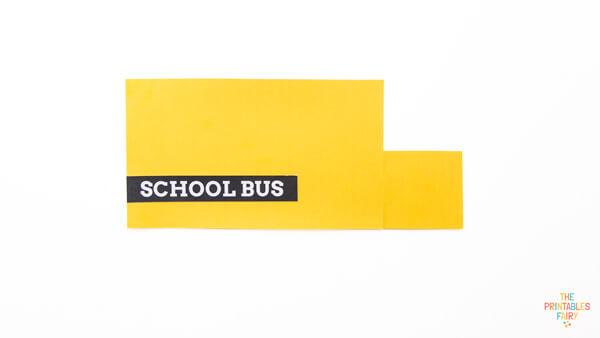 Black School Bus Sign