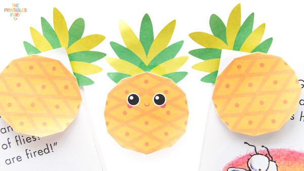 Pineapple Corner Bookmarks