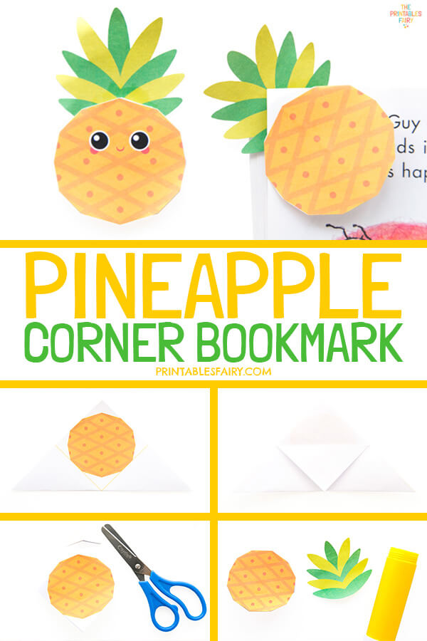 How to Make a Pineapple Bookmark