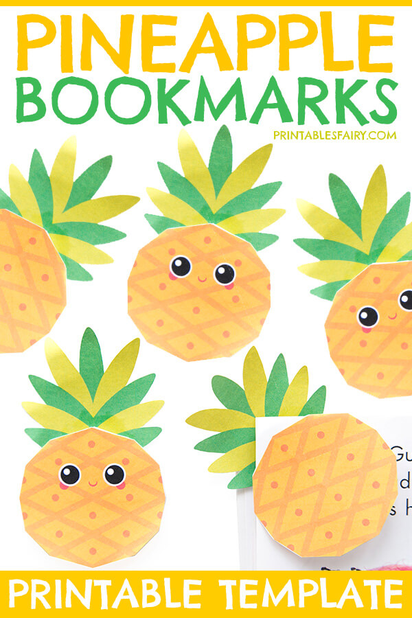 Pineapple Bookmarks