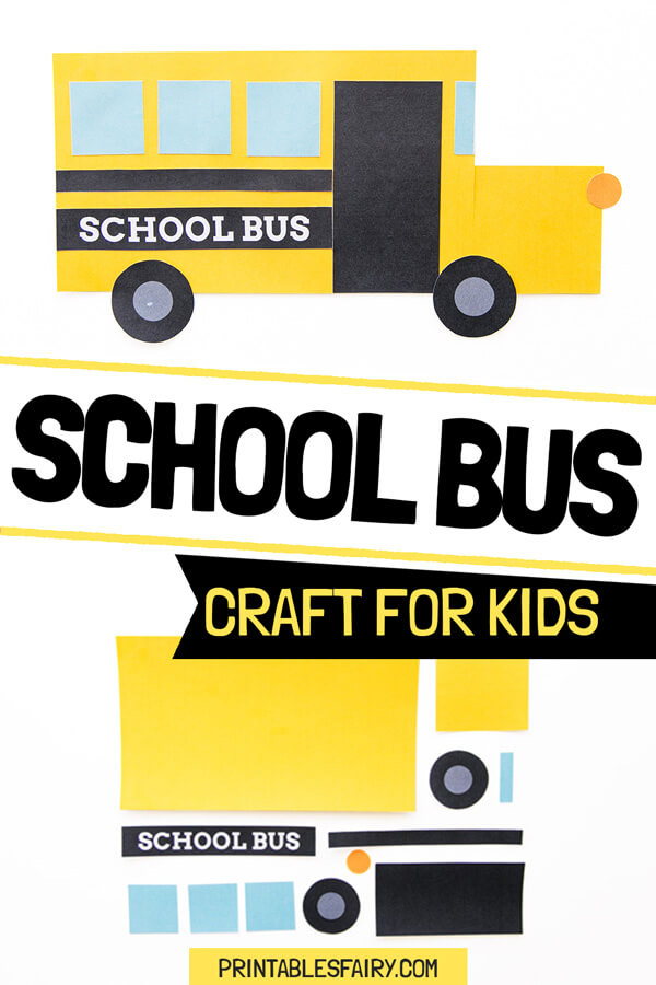 School Bus Craft for Kids