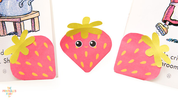 Strawberry Corner Bookmarks