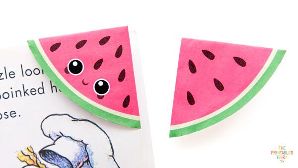 Watermelon Corner Bookmarks