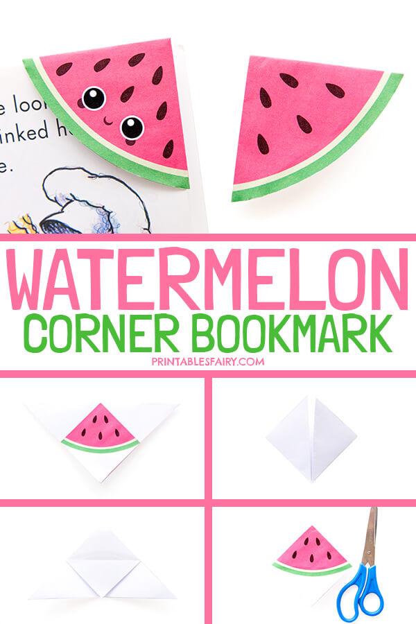 Watermelon Bookmarks