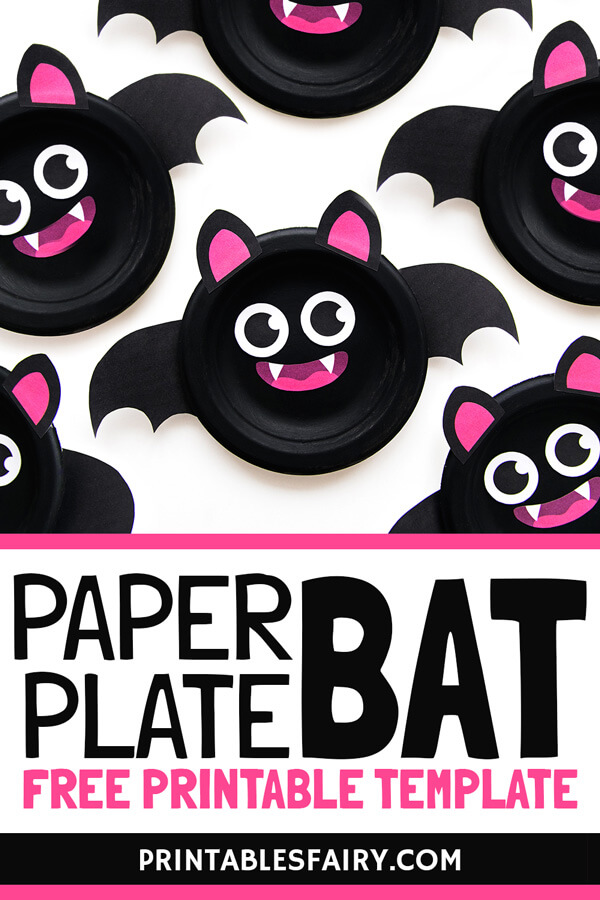 Bat Paper Plate