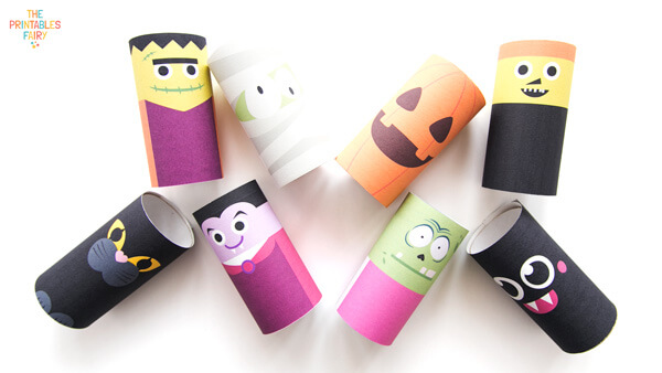 Halloween Toilet Paper Tubes Crafts